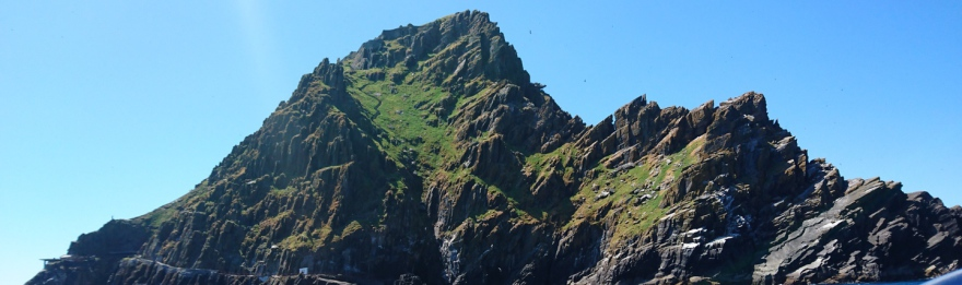 Skellig Michael from the south east approaches